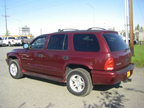2001 Dodge Durango for sale at NORTHWEST AUTO SALES LLC in Anchorage AK