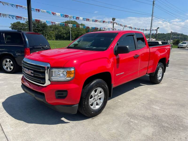 2020 GMC Canyon for sale at Autoway Auto Center in Sevierville TN
