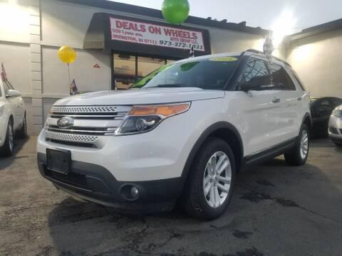 2015 Ford Explorer for sale at Gem Auto Sales in Irvington NJ