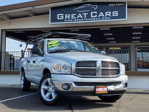 2008 Dodge Ram Pickup 1500 for sale at Great Cars in Sacramento CA