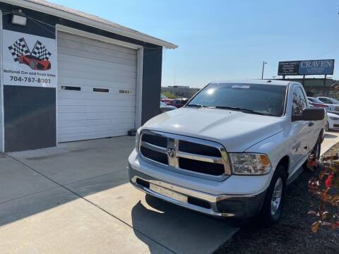 2019 RAM Ram Pickup 1500 Classic for sale at NATIONAL CAR AND TRUCK SALES LLC - National Car and Truck Sales in Concord NC