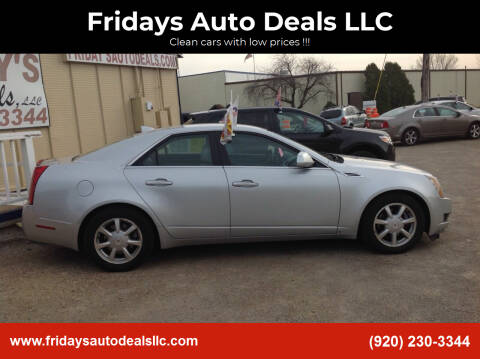 2009 Cadillac CTS for sale at Fridays Auto Deals LLC in Oshkosh WI