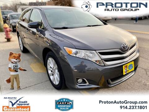 2014 Toyota Venza for sale at Proton Auto Group in Yonkers NY