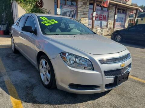 2011 Chevrolet Malibu for sale at USA Auto Brokers in Houston TX