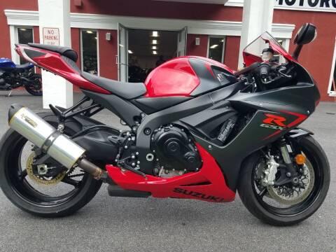 2016 Suzuki GSX-R600 for sale at WILKINS MOTORSPORTS in Brewster NY