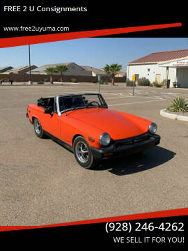 1978 MG Midget for sale at FREE 2 U Consignments in Yuma AZ