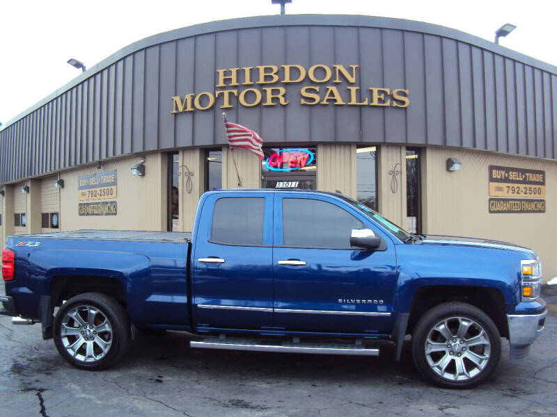 2014 Chevrolet Silverado 1500 for sale at Hibdon Motor Sales in Clinton Township MI