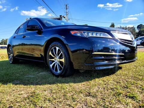 2015 Acura TLX for sale at Real Deals of Florence, LLC in Effingham SC