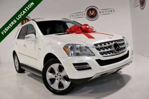 2011 Mercedes-Benz M-Class for sale at Unlimited Motors in Fishers IN