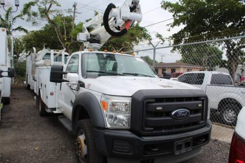 2013 Ford F-550 Super Duty for sale at Truck and Van Outlet in Miami FL