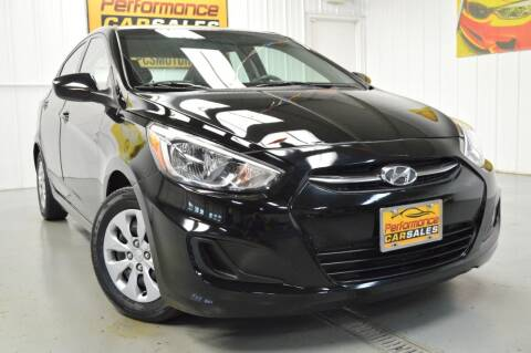 2016 Hyundai Accent for sale at Performance car sales in Joliet IL