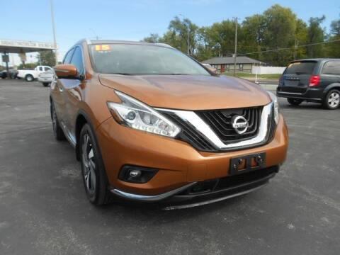 2015 Nissan Murano for sale at Kansas City Motors in Kansas City MO