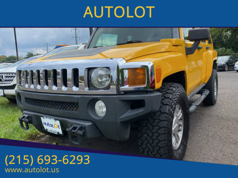 2006 HUMMER H3 for sale at AUTOLOT in Bristol PA