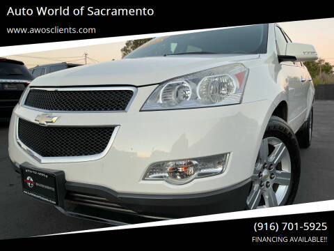 2012 Chevrolet Traverse for sale at Auto World of Sacramento Stockton Blvd in Sacramento CA