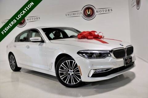 2017 BMW 5 Series for sale at Unlimited Motors in Fishers IN