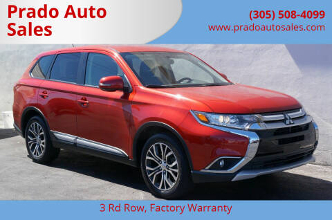 2016 Mitsubishi Outlander for sale at Prado Auto Sales in Miami FL