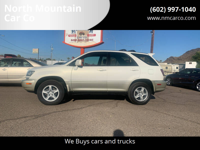 2000 Lexus RX 300 for sale at North Mountain Car Co in Phoenix AZ