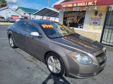 2011 Chevrolet Malibu for sale at ANYTHING ON WHEELS INC in Deland FL