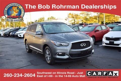 2019 Infiniti QX60 for sale at BOB ROHRMAN FORT WAYNE TOYOTA in Fort Wayne IN