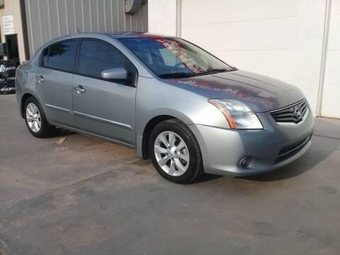 2011 Nissan Sentra for sale at Dreamline Motors in Coolidge AZ