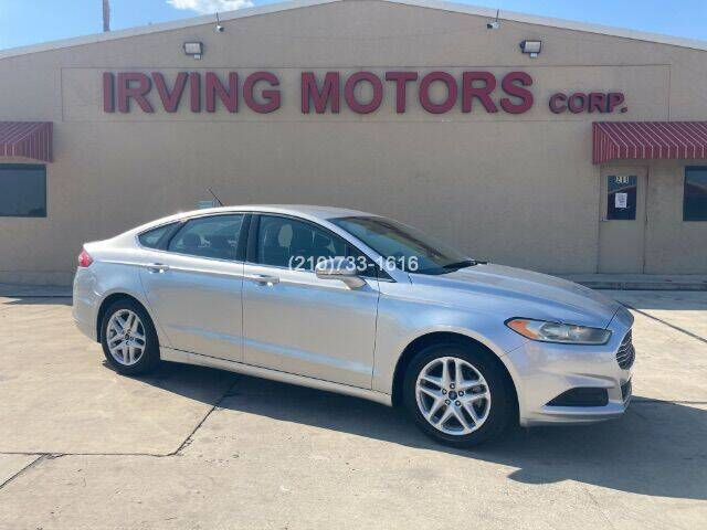 2014 Ford Fusion for sale at Irving Motors Corp in San Antonio TX