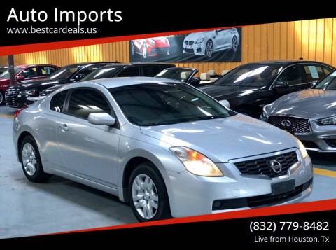 2009 Nissan Altima for sale at Auto Imports in Houston TX