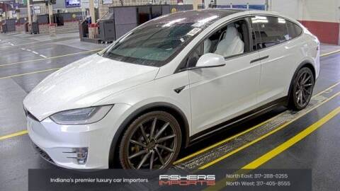 2018 Tesla Model X for sale at Fishers Imports in Fishers IN