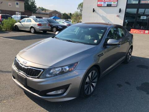 2012 Kia Optima for sale at MAGIC AUTO SALES in Little Ferry NJ
