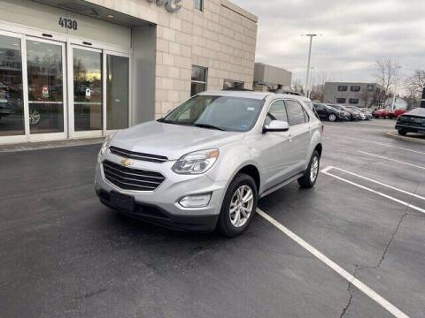 2016 Chevrolet Equinox for sale at Cappellino Cadillac in Williamsville NY