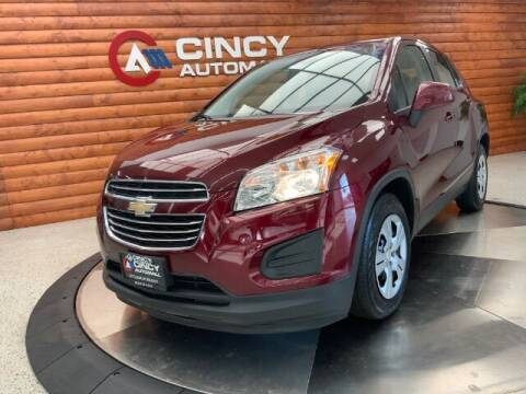 2016 Chevrolet Trax for sale at Dixie Motors in Fairfield OH