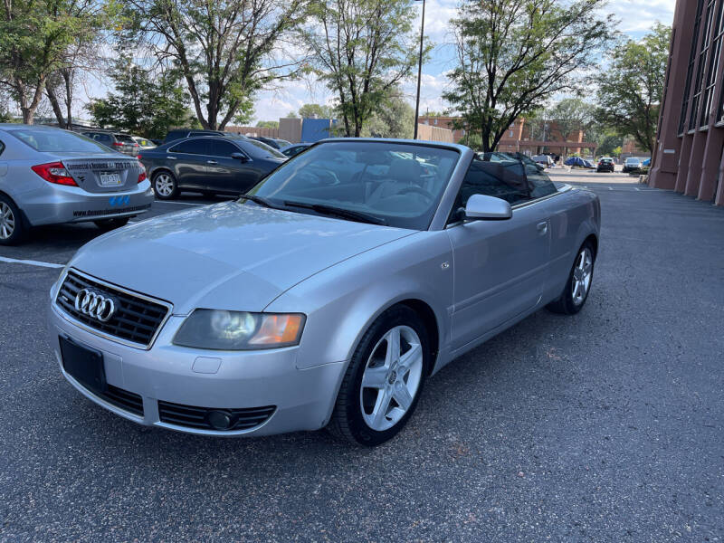 2004 Audi A4 for sale at Modern Auto in Denver CO