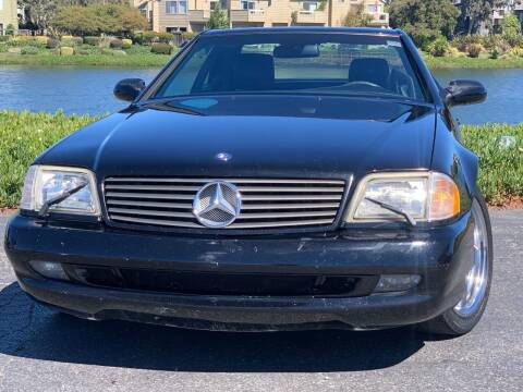 2001 Mercedes-Benz SL-Class for sale at Continental Car Sales in San Mateo CA