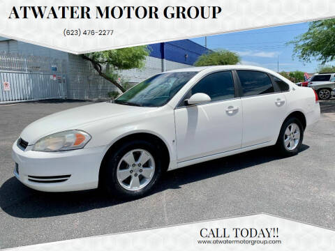 2008 Chevrolet Impala for sale at Atwater Motor Group in Phoenix AZ
