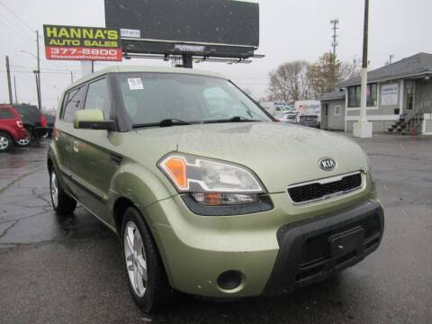2010 Kia Soul for sale at Hanna's Auto Sales in Indianapolis IN