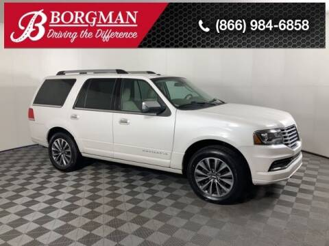 2015 Lincoln Navigator for sale at BORGMAN OF HOLLAND LLC in Holland MI