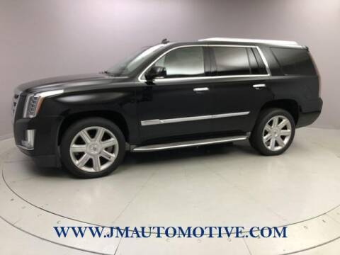 2015 Cadillac Escalade for sale at J & M Automotive in Naugatuck CT