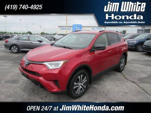 2016 Toyota RAV4 for sale at The Credit Miracle Network Team at Jim White Honda in Maumee OH