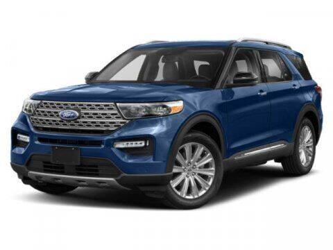 2021 Ford Explorer Hybrid for sale at Hawk Ford of St. Charles in St Charles IL