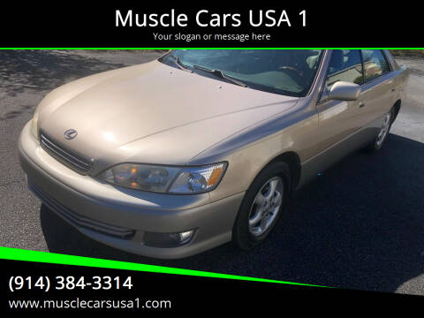 2001 Lexus ES 300 for sale at Muscle Cars USA 1 in Murrells Inlet SC