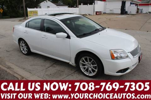 2012 Mitsubishi Galant for sale at Your Choice Autos in Posen IL