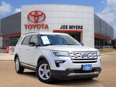 2018 Ford Explorer for sale at Joe Myers Toyota PreOwned in Houston TX