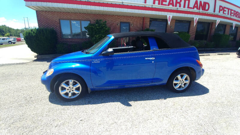 2005 Chrysler PT Cruiser for sale at Heartland Classic Cars in Effingham IL