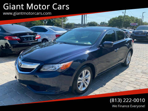 2013 Acura ILX for sale at Giant Motor Cars in Tampa FL