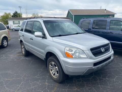 2005 Honda Pilot for sale at Pine Auto Sales in Paw Paw MI