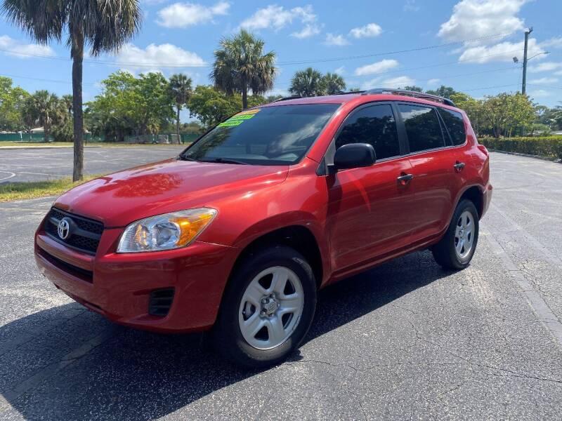 2012 Toyota RAV4 for sale at Lamberti Auto Collection in Plantation FL