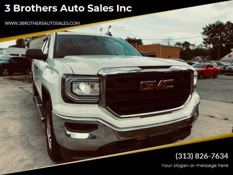 2016 GMC Sierra 1500 for sale at 3 Brothers Auto Sales Inc in Detroit MI