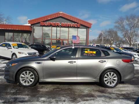 2017 Kia Optima for sale at Super Service Used Cars in Milwaukee WI