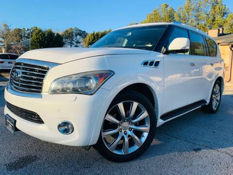 2012 Infiniti QX56 for sale at Classic Luxury Motors in Buford GA