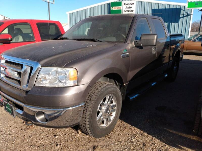 2008 Ford F-150 for sale at Halvorson Auto in New Rockford ND