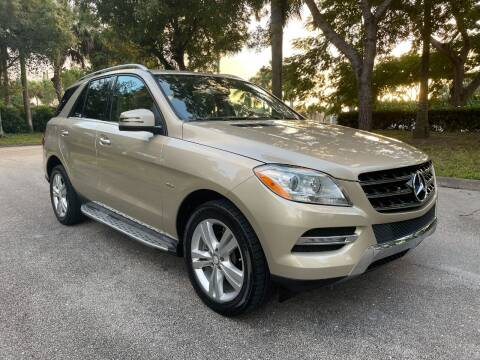 2012 Mercedes-Benz M-Class for sale at DELRAY AUTO MALL in Delray Beach FL